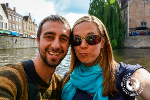 A Cruising Couple In Bruges