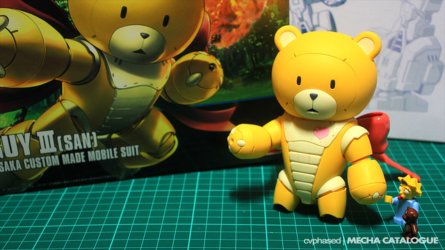 HGBF Beargguy III [San] - Special Work in Progress #2