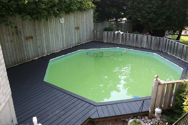 Pool Deck Transformation With Behr Premium Deckover Life
