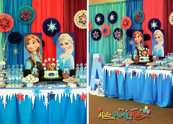 Frozen Birthday Party Theme