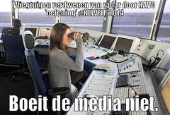 -Vliegtuigen verdwenen van radar door NAVO 'oefening' #NEWFIP 2014 - Boeit de media niet. -