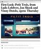 Petit Trois Opening Article