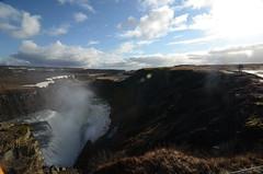 Gullfoss southern view