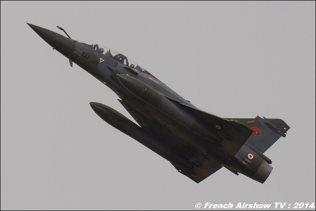 Patrouille Mirage 2000D, Meeting Aerien BA-133 Nancy Ochey 2014