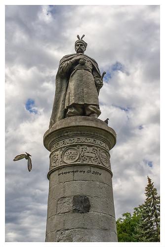 Bogdan Khmelnytsky Monument (Chernigiv, Ukraine)
