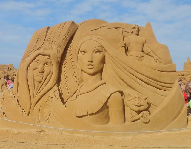 Sculpures sur sable Disney - News Touquet p.1 ! 14770338069_f3f67c8ecd_z