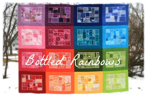 Bottled Rainbows Quilt