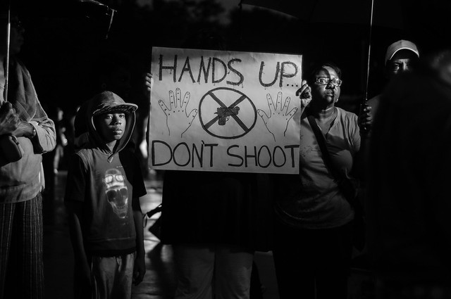 Protests in Ferguson, MO