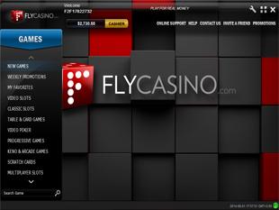 Fly Casino Lobby
