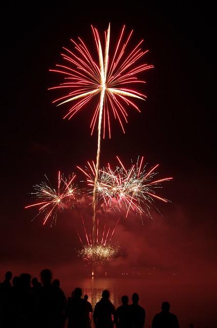 Fireworks at Malter in Flammen