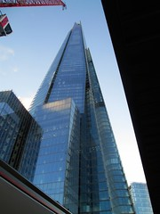 The Shard from London bridge station