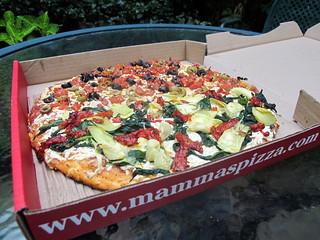 Mammas Vegan Pizza