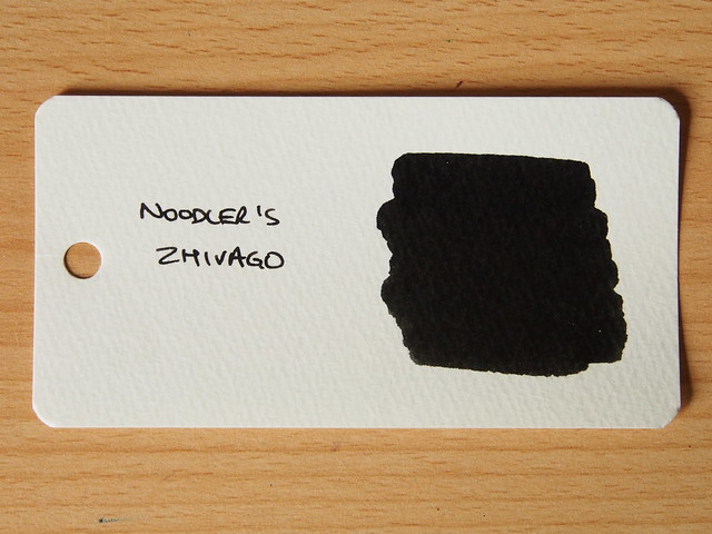 Noodler's Zhivago - Word Card - Ink Review