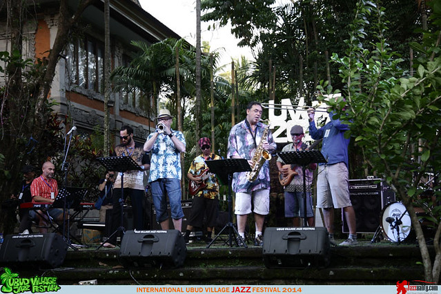 Ubud Village Jazz Festival 2014 - Bali Ska Jazz Syndicate (3)