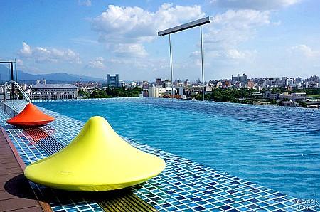 ▋嘉義住宿▋桃城茶樣子~以茶為主軸的設計旅店、無邊際游泳池超吸睛