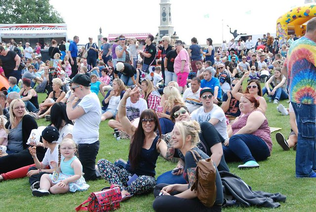 Plymouth Gay Pride on the Hoe Sat 9th Aug 2014