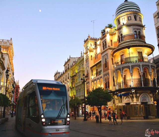 comment se déplacer à Séville