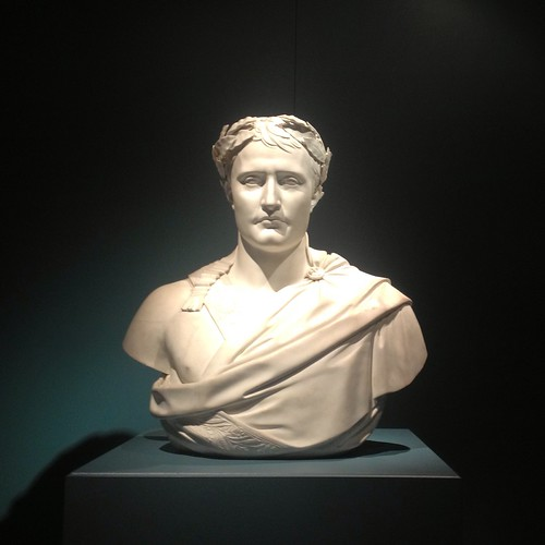Part of the Napoleon exhibition, in the crypt at Notre Dame