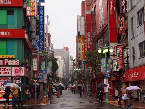 Rainy Streets of Shinjuku