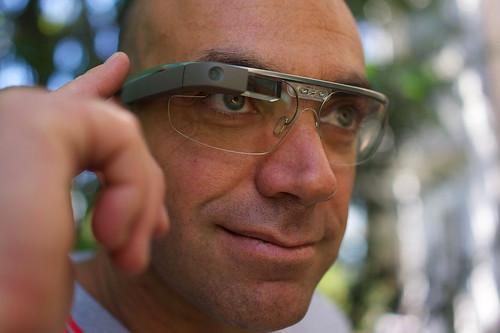 Google Glass © Rijans007/Wikimedia Commons, 2013