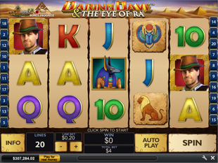 Daring Dave and The Eye of Ra slot game online review