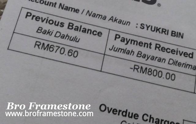 Bil Telefon Syarikat Telekomunikasi Malaysia Membebankan