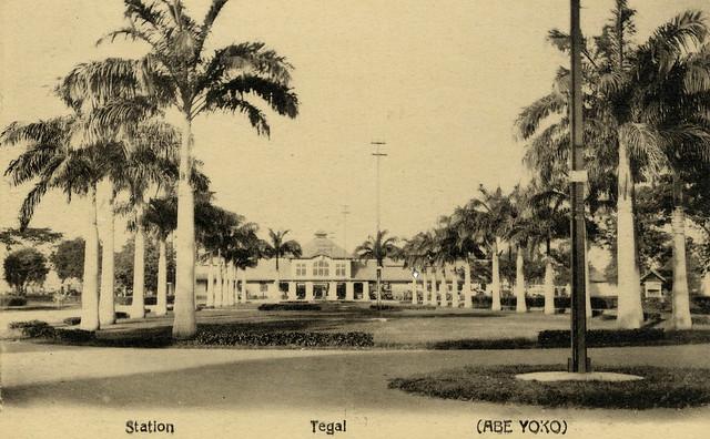 Station. Tegal. (Abe Yoko.) 1910-1935