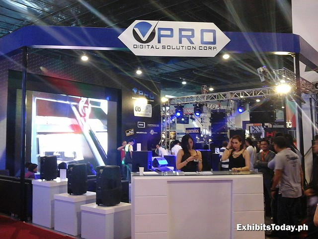 V-Pro Digital Solutions Exhibit Booth
