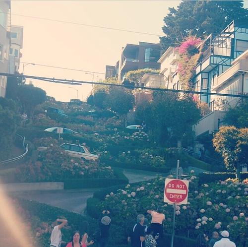 Lombard Street. #sanfrancisco #kategoestocalifornia