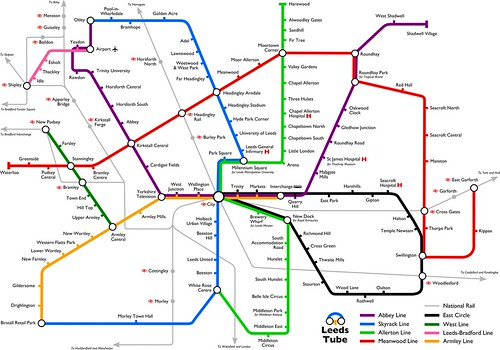 Leeds Tube map v3