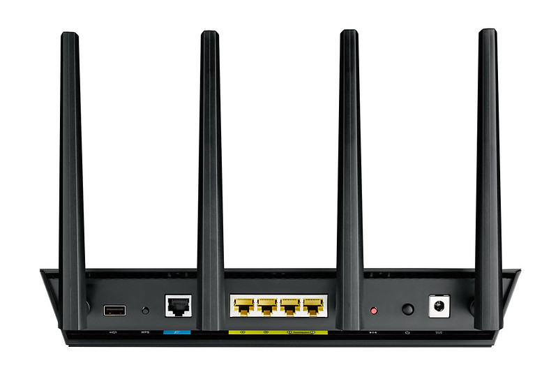Asus RT-AC87U Router - Back