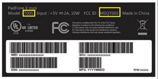 ASUS Padfone X mini với các thông số kỹ thuật từ nhà mạng AT&T - 30539