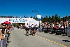 Finishing strong at the 2014 RBC GranFondo