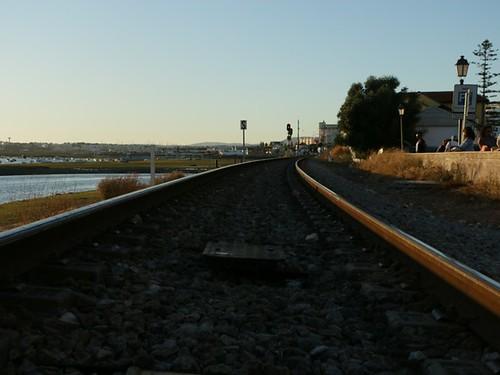 Faro: passaggio del treno