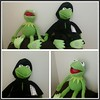 Created with Photo Collage Maker. http://goo.gl/RpSVMx  A couple of new arrivals today   #plushies #MuppetsMostWanted #Kermit #Constantine