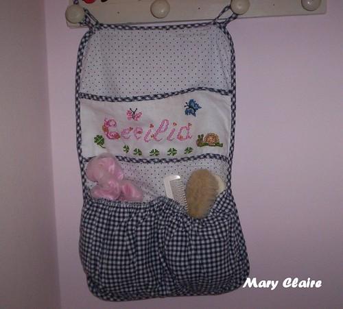 sacco porta oggetti bebè