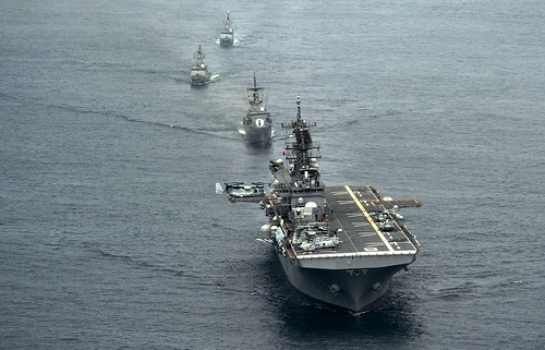 USS America Makes Final Port Visit in Peru