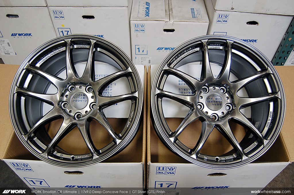 WORK Wheels Color (GTS)