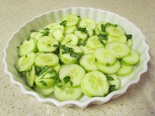 Chilled Cucumber Salad