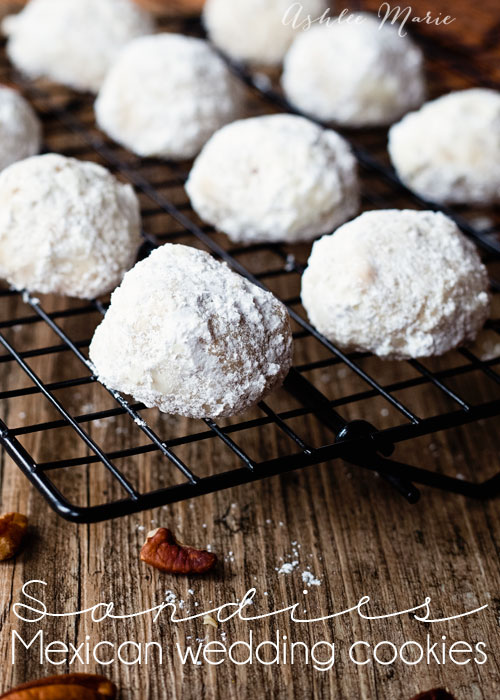 these are one of my kids favorite cookies to help me make, they love dipping them in the powdered sugar.  I got this recipe from my grandmother in mexico so authentic and delicious!