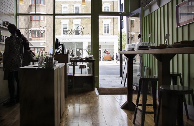 Cafe - Upper Street, Islington