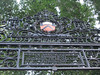 1905 gate, detail, Princeton University, New Jersey
