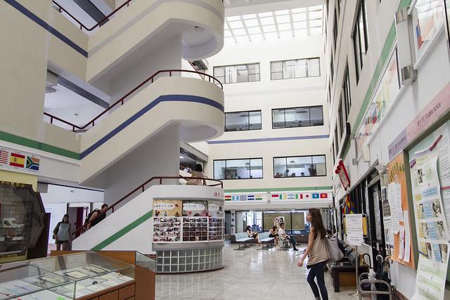 Inside MTC building
