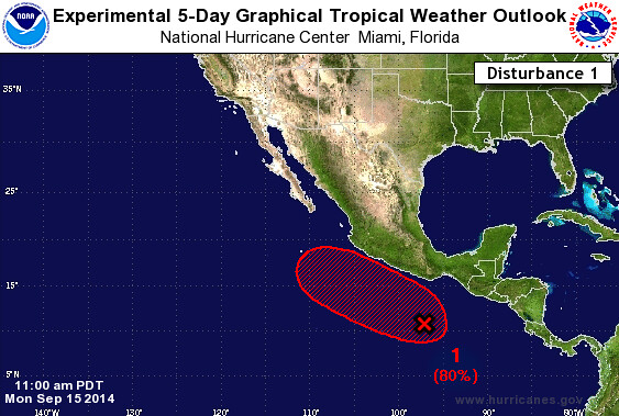 NHC Pacific Forecast