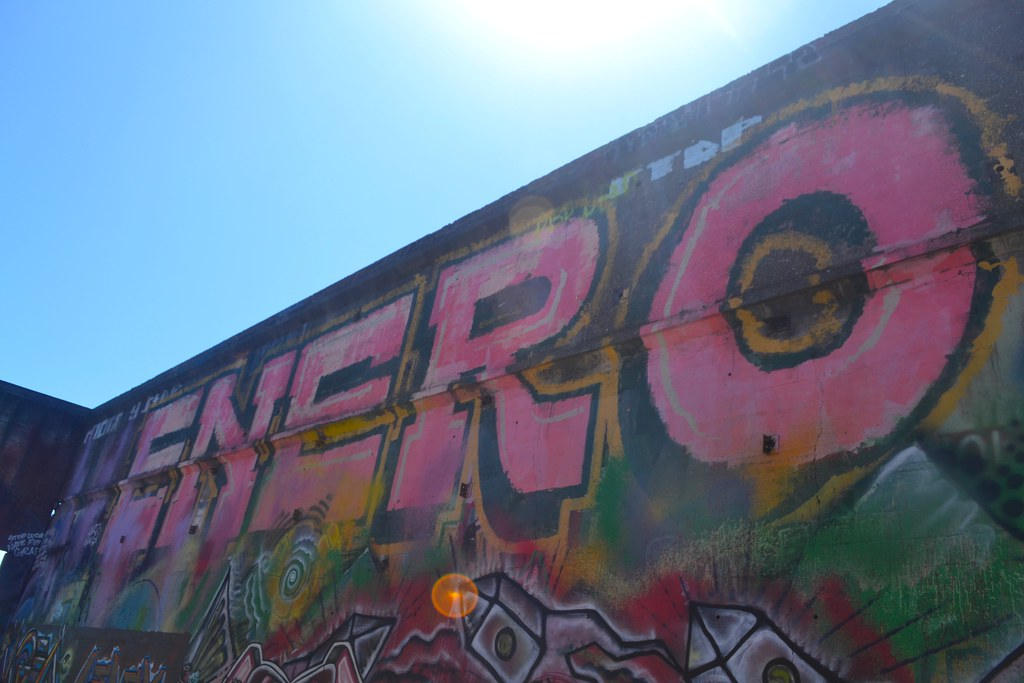 ENERO, TFN, Northen California, Graffiti, The yard, chill spot