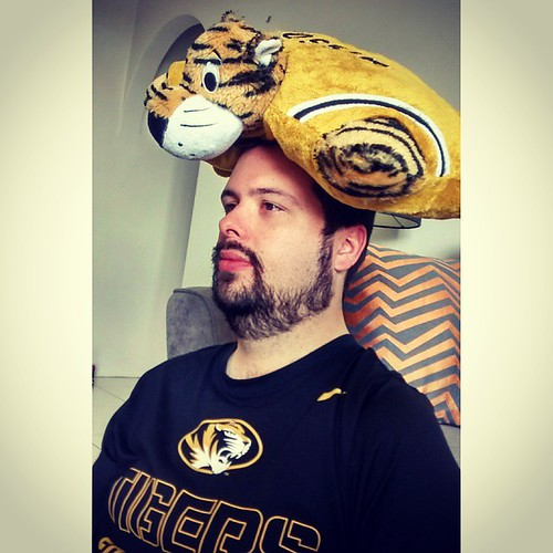 He's no cheesehead, he's a tigerhead