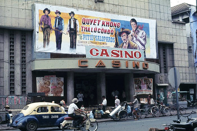 SAIGON 1969-70  by Michael G. Anderson - Movie theater CASINO