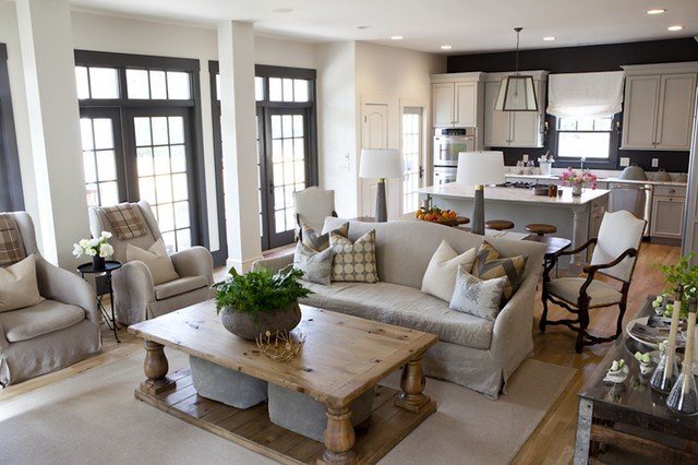 Room For Style Decorating Farmhouse Chic Living After