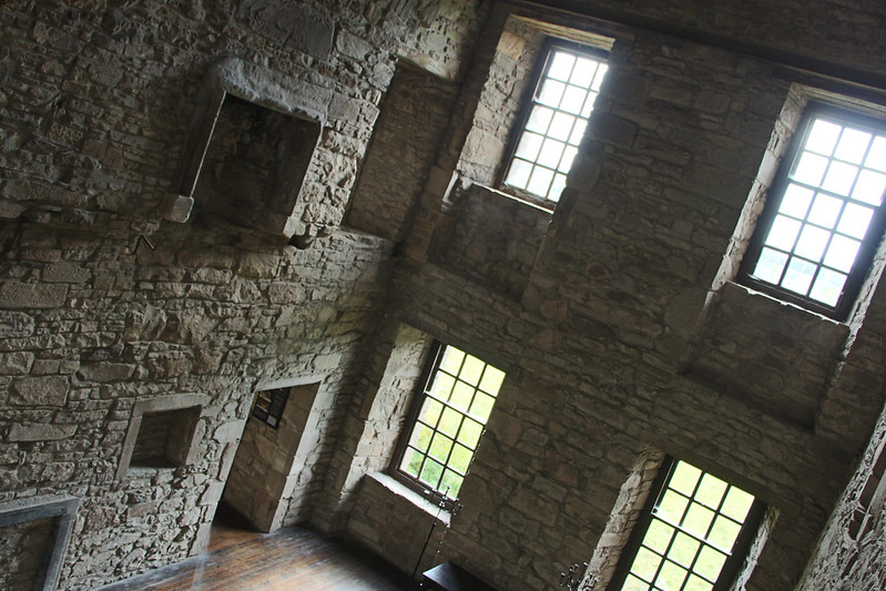 Huntingtower Castle