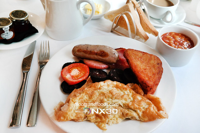 london no 11 cadogan gardens english breakfast
